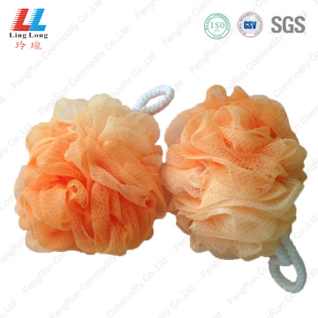 Gradient sightly mesh sponge ball
