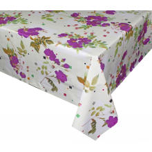 Elegant Tablecloth with Non woven backing Round
