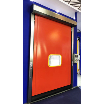 PVC Auto Self Repair Fast Roll Up Door