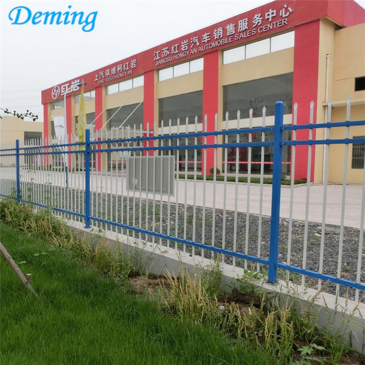 Power Coated High Quality Decorative Zinc Steel Fence
