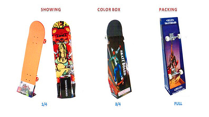 Showing Color Box Packing