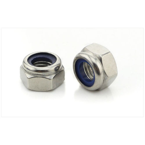 Metric DIN985 M4 Stainless Steel Hex Nut