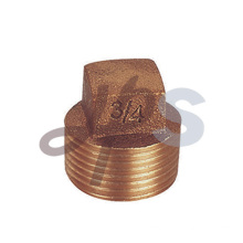 Bronze male thread end cap