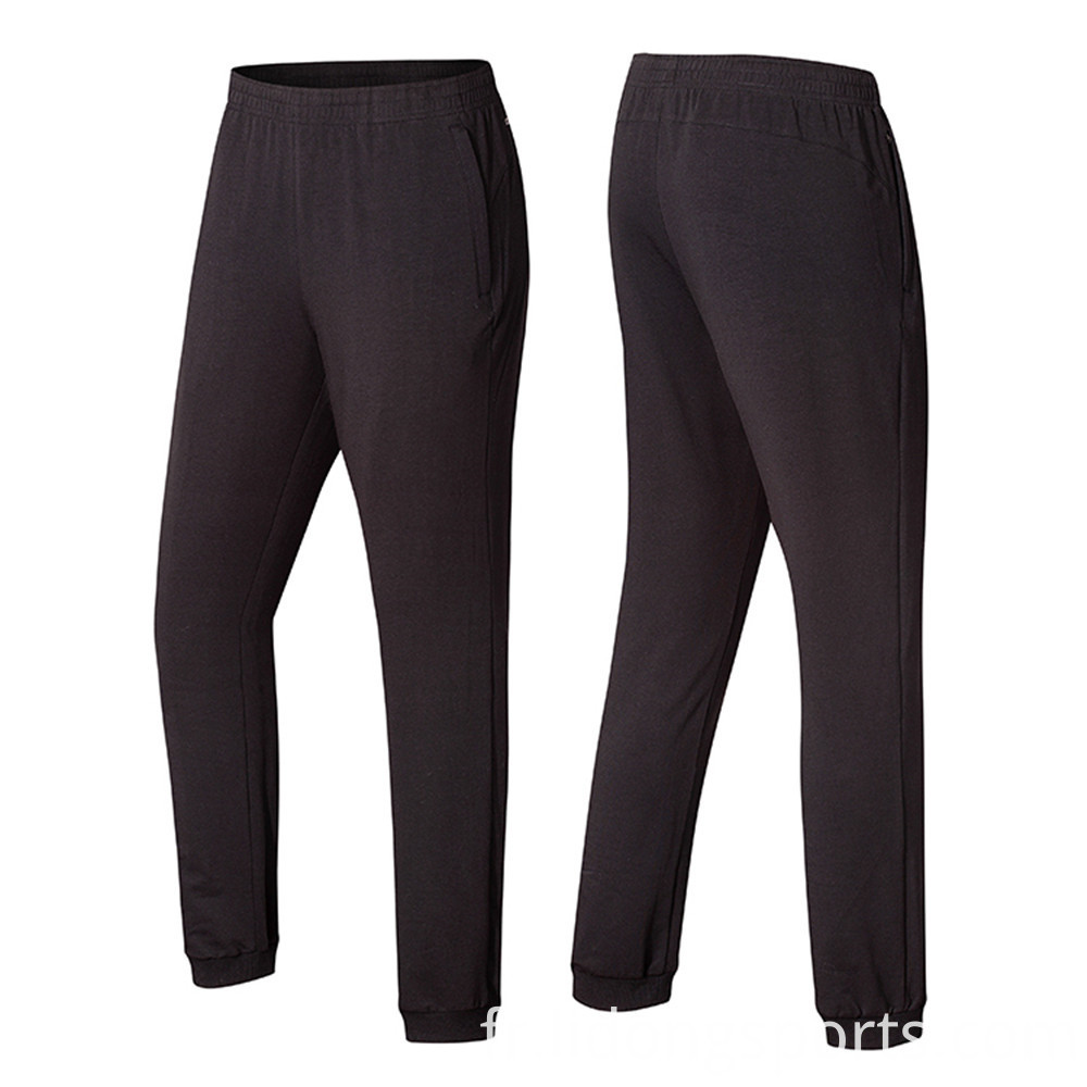 Fitted Cotton Long Sport Slacks For Men