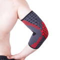 Non-slip basketball knit elbow pads