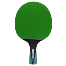 Two Table tennis rackets long handle pure blade rubber with double face pimples in ping pong rackets with free gifts