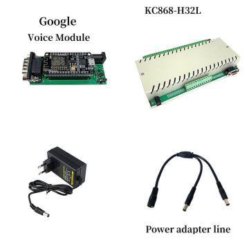 H32L with Google Home Voice Control IOT Smart Switch Home Kit System Automation Domotica Casa Hogar Inteligente Homekit Gadgets