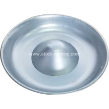 Pig Stainless Steel Feeding Pan Round