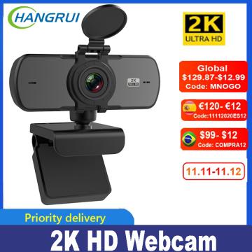 Full HD Webcam 2k 1080P Autofocus USB Web Webcam Computer PC Laptop Mini Camera With Microphone Video Cam kamerka internetowa