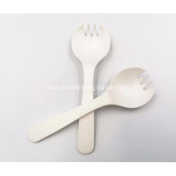 Healthy Cornstarch 100% Compostable Disposable Spork