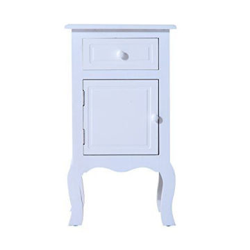 Cheap Living indoor White antique 100% wooden cabinet furniture