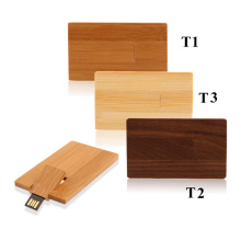 Holz Flip Card USB-Stick