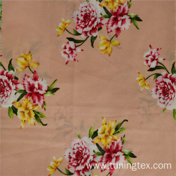 Four Way Spandex Rose Print