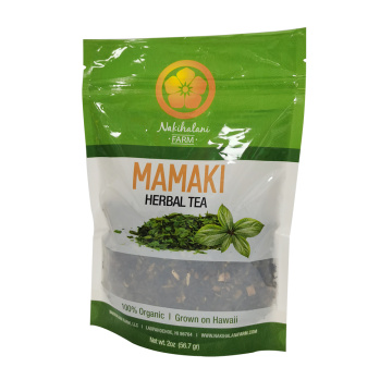 Cellophane Biodegradable Bag for Green Tea Leaf Packaging
