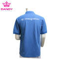 Royal Blue Mens Pique Polo Shirt