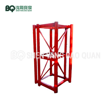 650*650 Mast Section for SC Series Construction Hoist