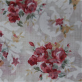 Light And Transparent CVC Flower Printed Fabric
