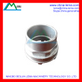 Steel lost wax casting product