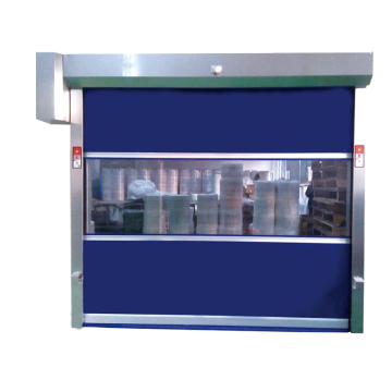 Industrial High Speed PVC Fabric Shutter Door