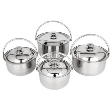 201 Stainless Steel Cookware Set Utensils Set