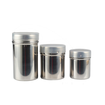 Food Grade Stainless Steel Salt Shaker