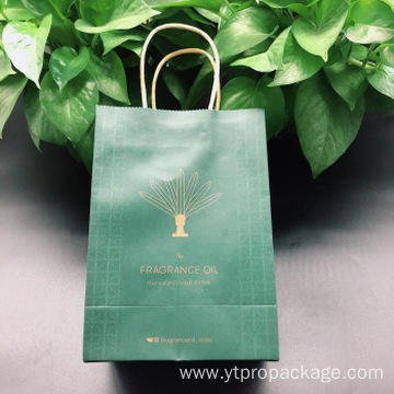 Printing custom design paper bags with logo shopping
