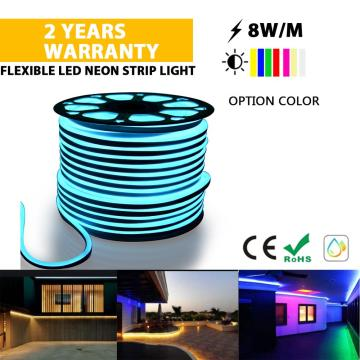 Outdoor Flexible Neon strip light ICE BLUE