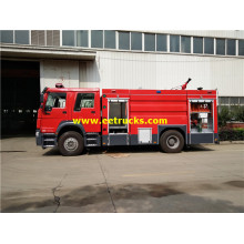 8 CBM Water Foam Steyr Fire Trucks