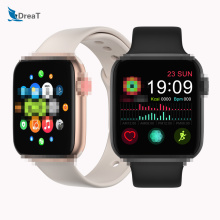 IWO 12 FT50 Smart watch Women Men Smartwatch fitness tracker sports Heart Rate Temperature Monitor For Android IOS IWO8 bracelet