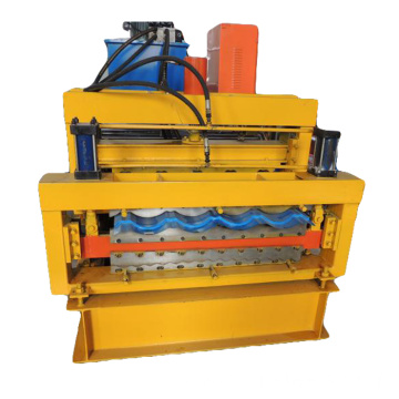 double layer glazed tile roll forming machine r72