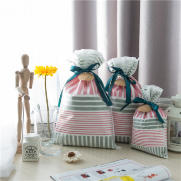 Grey Pink Daily Gift Wrapping Bag For You