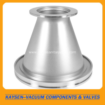 Adapter Conical KF-50 to ISO-63 Large Flange SS304