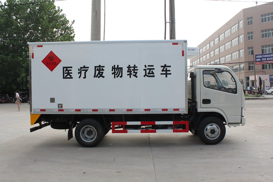 Medical waste transport vehicle 2