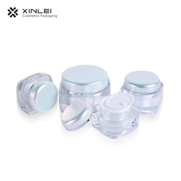 15 g Classic Square Cosmetic Acrylic Jar