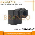 Internal Female Thread Black DIN Mounted Valve Connectors