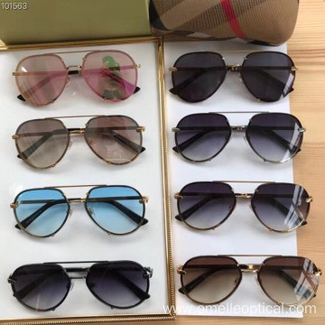 Oval Full Frame Sunglasses For Women