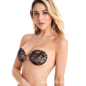 Silicone Bra Backless Strapless Silicone lace Bra