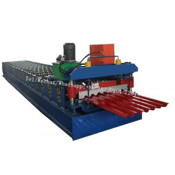 Seven Ribs R Roof Panel Roll Forming Machine