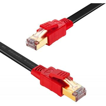 40Gbps High Speed Shielded RJ45 CAT8 Ethernet Cable