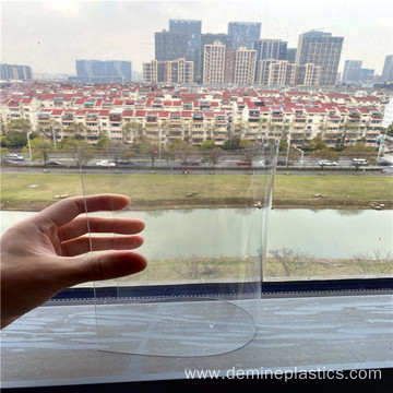 Thin flexible clear film 0.5mm polycarbonate film