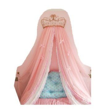Tassel European Decorative Bedside Background Mosquito Net