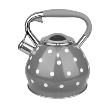 Color wave point stainless steel kettle