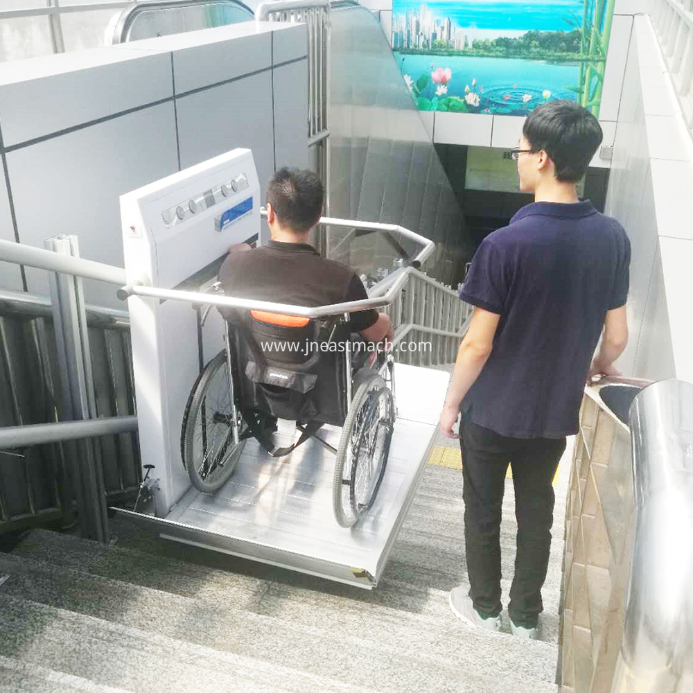 China Porch Wheelchair Incline Platform Lift