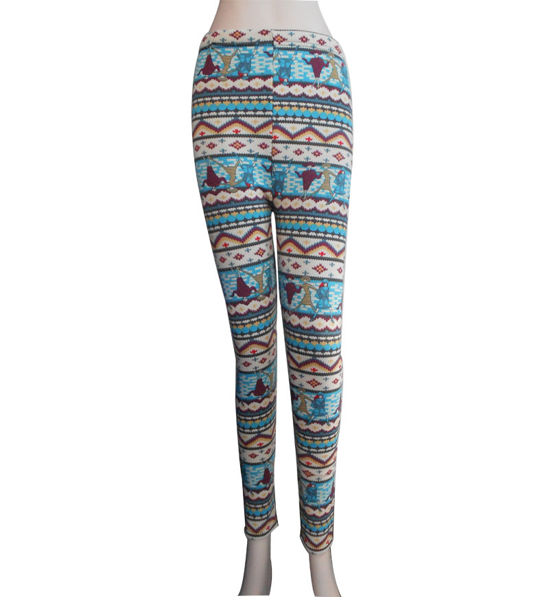 Lady's Leggings 98%polyester 2%spandes