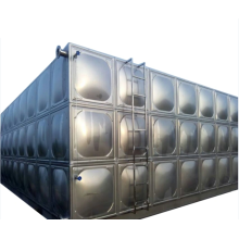 Factory 304 Stainless Steel Rectangular Water Tank