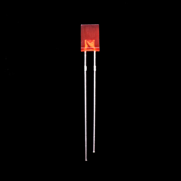 Super Bright Red 2×5×7mm Rectangle Through-hole LED Lamps