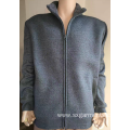 65% polyester 35% cotton man's fleece bonded sherpa.