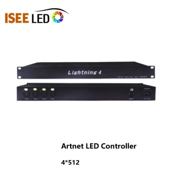 4 ways Artnet DMX Led Controller