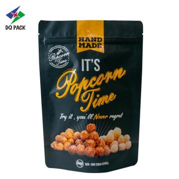 Popcorn Packaging Stand Up Pouch With Zipper