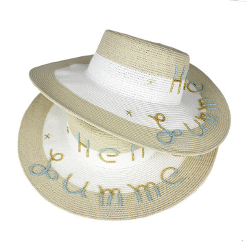 2020 fashion week famous designer summer straw hat